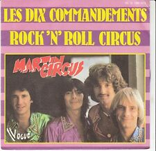 45 T  SP MARTIN CIRCUS *LES DIX COMMANDEMENTS* & *ROCK'N'ROLL CIRCUS*