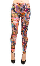 Long Leggings - Romantic Novels Theme (One Size)