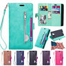 For Samsung Galaxy Note 8/S8/S9+ Flip Leather Phone Case Cover Card Wallet Stand