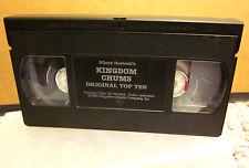 KINGDOM CHUMS Christian cartoon Squire Rushnell VHS Ten Commandments animation