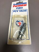 Purolator PCV Valve PV851 Made in USA