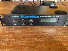Alesis Quadraverb Plus Hardware Rack Digital Reverb Unit Aphex Autechre Warp