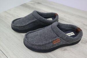 Dearfoams Men's Size 9-10 Gray Slipper Pre-Owned