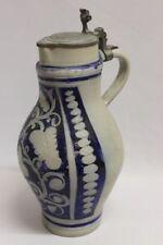 Westerwald-Keramik-Krüge, - Kannen & -Flaschen