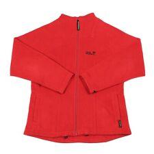 JACK WOLFSKIN Nanuk Fleece Jacket | Coat Zip Bomber Warm Winter