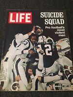 LIFE MAGAZINE DECEMBER 3, 1971 SUICIDE SQUAD PRO FOOTBALL'S MOST VIOLENT MEN