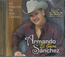 Armando Sanchez El Guero La Historia de Don Chalino New Nueva Sealed