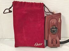 OSTER Mini Traveling Iron #308-07A w/Travel Pouch