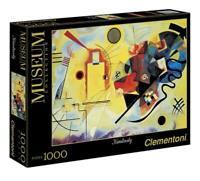 PUZZLE DA 1000 PZ CLEMENTONI-DIMENSIONI FINALI 50X69- YELLOW/RED/BLUE KANDINSKY