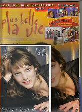 DVD + MAGAZINE PLUS BELLE LA VIE N° 35 / NEUF, COMPLET