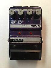 DOD Digitech DFX9 Digital Delay Infinite Repeat Rare Vintage Guitar Effect Pedal