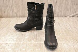 Spring Step Boisa Boot, Women's Size 9.5-10M 41EU, Black NEW