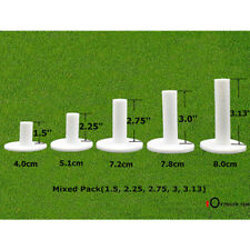 Golf Rubber Tee Different Size 5 Pack 1.5'' 2.25'' 2.75'' 3.0'' 3.13'' inch UK