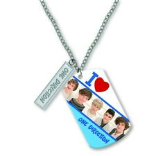 ONE DIRECTION TAG NECKLACE 16  Whole Band