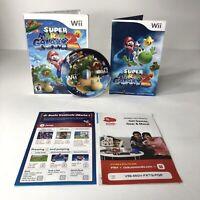 Super Mario Galaxy 2 (Nintendo Wii, 2010) Complete w/ Manual, Inserts, CIB Great