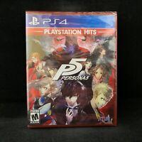 Persona 5 PlayStation Hits  (PS4 / PlayStation 4) BRAND NEW / Region Free