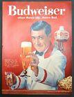 1961 Budweiser Beer bartender photo vintage print ad