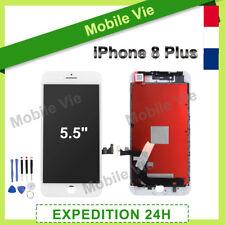 ECRAN VITRE TACTILE + LCD RETINA SUR CHASSIS POUR IPHONE 8 PLUS BLANC + OUTILS