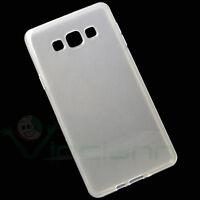 Custodia JELLY cover Bianco trasparente per Samsung Galaxy A7 A700FU case TPU