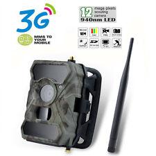 12MP Digital MMS SMS GPRS 3G Game Trail Hunting Farm Camera Video Upgraded 680M