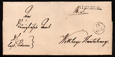 $German Stampless Cover, Nienburg (date)