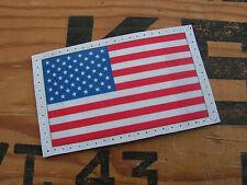 "SNAKE PATCH - "" USA "" 50 étoiles écusson US ARMY NAVY AIR FORCE HAUTE VISIBILITE"