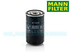 Mann hummel oe qualité remplacement moteur filtre à huile w 719/36