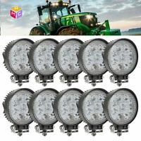 "10pcs 4"" Spot Work LED Combine Light Bar John Deere 9400 9500 9600 Tractor 2355"