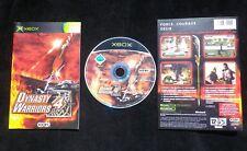 JEU Microsoft XBOX : DYNASTY WARRIORS 4 (Koei COMPLET envoi suivi)