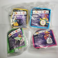 Vintage 1989 Tom and Jerry Complete Band Set McDonalds Happy Meal Toys Sealed