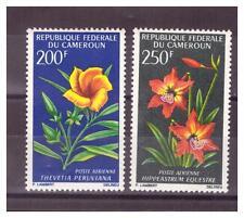 CAMEROUN.PA  N° 99/100. 2 VALEURS  FLEURS   NEUVES   **. SUPERBE