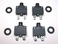 4 each New 7-1//2 Amp Aircraft Circuit Breakers #505-507-102