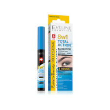 Eveline TOTAL ACTION Corrector Gradually Coloring Eyebrows with Henna 8in1 10ml
