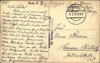 Feldpostkarte 1917 AK von Soldat Regiment Alexander 1. Kompanie 1. Weltkrieg
