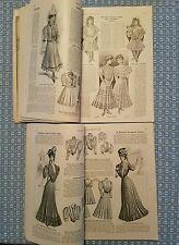 LOT 2 RARE 1906 MCCALLS QUEEN OF FASHION MAGAZINES PHOTOS ILLUS. ADS GOSSIP