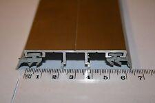 ALU Verlegeprofil für VSG 8 -12 mm Glas, Befestigungsschienen, Carport