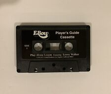E-Bow Players Guide Cassette Tape. Cassete only. 1998.