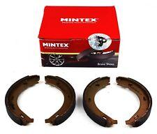 MINTEX REAR PARKING BRAKE SHOES SET MERCEDES BENZ MFR473 (REAL IMAGE OF PART)