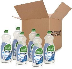 6pk Seventh Generation Dish Liquid Soap Free & Clear25 oz