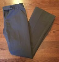 The Limited Drew Fit Women's Sz 2 Wide Leg Boot Cut Dress Career Pants Brown