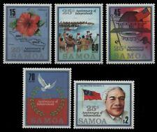 Samoa 1987 - Mi-Nr. 607-611 ** - MNH - Unabhängigkeit / Independence