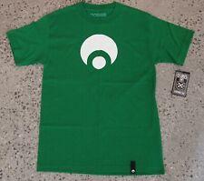 OSIRIS Skate Mens Crew Neck T-shirt, Green, Size S