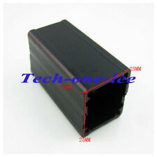 2 x 50*25*25mm (L*W*H) Aluminum Project Box Enclousure Case DIY Electronic Black