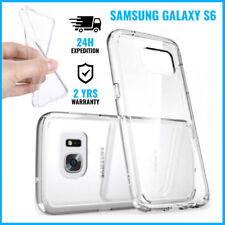 Transparent 0.3mm Cas Gel Clear Case Cover Etui Coque For Samsung Galaxy S6