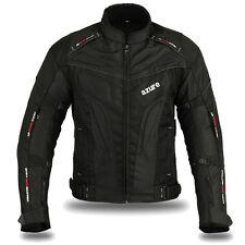 """Motorbike Motorcycle Waterproof Summer Cordura Textile Jacket 2281 M (36""""-38"""")"""