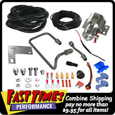 HURST 2010-2014 Ford Mustang GT-Shelby Roll Control Line Lock Kit Stainless