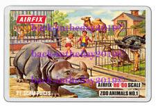 AIRFIX ZOO ANIMALS NO.1 BOX ART JUMBO FRIDGE LOCKER MAGNET