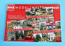 Busch Modellwelten Katalog 2018/19 in Deutsch