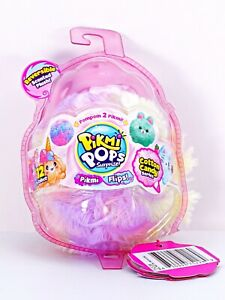 Pikmi Pops Surprise Cotton Candy Series Pikimi Flips Reversible Scented Plush