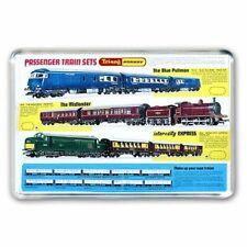 TRI-ANG ( TRIANG) HORNBY RAILWAYS TRAIN SETS BLUE PULLMAN JUMBO FRIDGE  MAGNET
